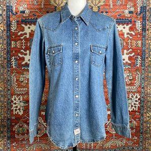 Vintage Original Levi's Western Denim Shirt